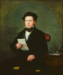 Juan Bautista de Muguiro 1827 by Francisco Jose de Goya y Lucientes