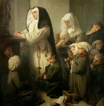 The Prayer of the Children Suffering from Ringworm by Isidore Pils