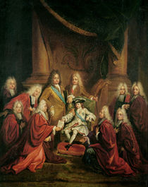 Louis XV Granting Patents of Nobility to the Municipal Body of Paris by Louis de, the Younger Boulogne