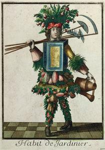 The Gardener's Costume by Bonnart