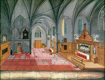 Interior of the Church, from 'L'Abbaye de Port-Royal' by Louise Madelaine Cochin