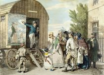 The Fairs: The Show, c.1821 by John Augustus Atkinson