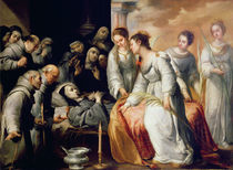 The Death of St. Clare by Bartolome Esteban Murillo