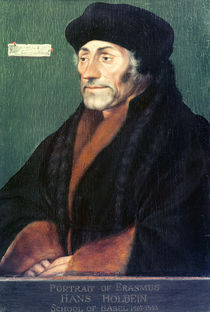 Erasmus of Rotterdam von Hans Holbein the Younger