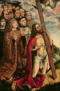Christ the Mediator with Philip the Handsome and his Entourage by Colijn de Coter