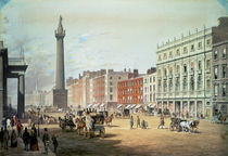 Sackville Street, Dublin by Michael Angelo Hayes