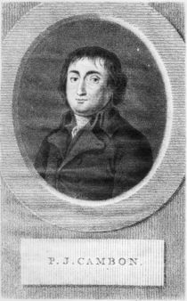Portrait of Pierre Joseph Cambon by Lambertus Antonius Claessens