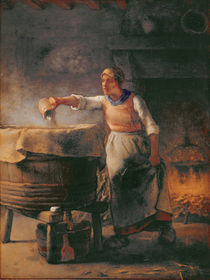 The Boiler, 1853-54 by Jean-Francois Millet