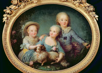 The Children of Charles de France by French School