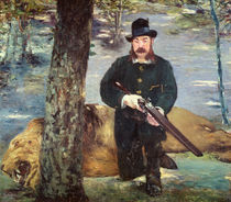 Pertuiset, Lion Hunter, 1881 by Edouard Manet