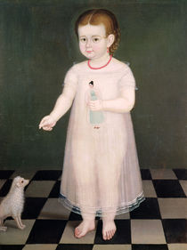 Young Girl with a Doll, 1838 by Jose Maria Estrada