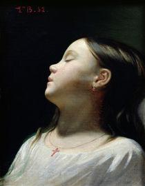Young Girl Sleeping, 1852 by Leon Joseph Florentin Bonnat