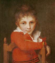 Portrait of a Young Boy von Jacques Louis David