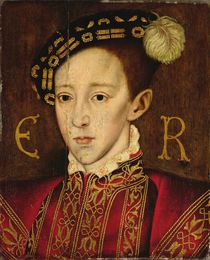 Portrait of Edward VI by Guillaume Scrots