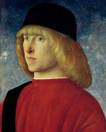 Portrait of a Young Senator von Giovanni Bellini