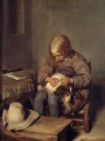 The Flea-Catcher c.1655 von Gerard ter Borch or Terborch