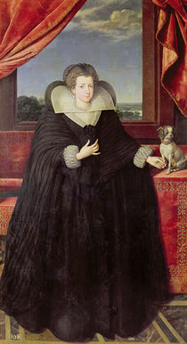 Isabella of Bourbon Queen of Spain by Frans II Pourbus