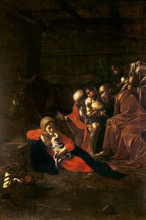 Adoration of the Shepherds von Michelangelo Merisi da Caravaggio