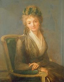 Portrait presumed to be Lucile Desmoulins 1794 von Louis Leopold Boilly