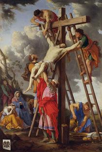 The Deposition, 1655 by Laurent de La Hyre