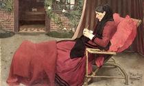 Portrait of My Mother, 1902 von Jean-Pierre Laurens