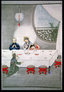Last Supper by Chinese School