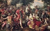David and Abigail or Alexander and the Family of Darius von Maarten de Vos