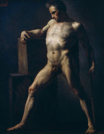 Study of a Man, c.1808-12 by Theodore Gericault