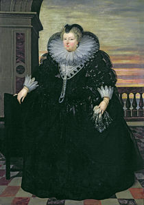 Marie de Medici Queen of France by Frans II Pourbus
