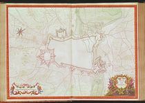 Ms. 986, Vol.1 Plan and Map of Cambrai by Sebastien Le Prestre de Vauban