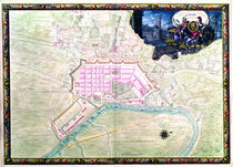 Ms. 988, Vol.3 fol.38 Plan of Rochefort and its surroundings by Sebastien Le Prestre de Vauban