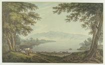 Skiddaw and Derwent Water by Joseph Farington