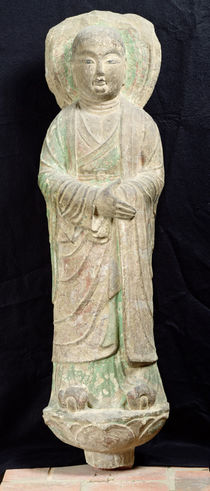 Monk, from Dunhuang, Gansu Province by Chinese School