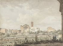 Temple of Venus and Rome, Rome by William Pars