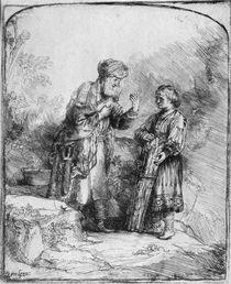 Abraham and Isaac, 1645 von Rembrandt Harmenszoon van Rijn