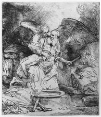 The Sacrifice of Abraham, 1645 by Rembrandt Harmenszoon van Rijn
