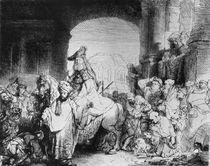 The Triumph of Mordecai, c.1640 von Rembrandt Harmenszoon van Rijn
