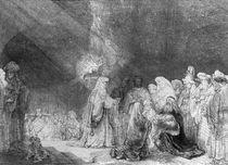 Presentation in the Temple von Rembrandt Harmenszoon van Rijn