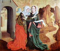 The Visitation, c.1460 by German School
