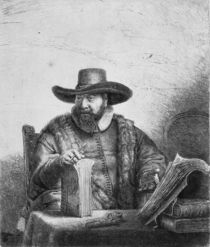 Cornelius Claesz Anslo 1640 von Rembrandt Harmenszoon van Rijn