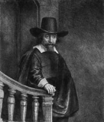 Ephraim Bonus, known as 'The Jew with the Banister' 1647 by Rembrandt Harmenszoon van Rijn