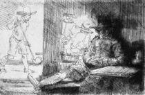 Kolf game, 1654 von Rembrandt Harmenszoon van Rijn