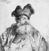 Portrait of an old man von Rembrandt Harmenszoon van Rijn