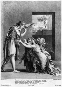 Andromache at the feet of Pyrrhus von Anne Louis Girodet de Roucy-Trioson