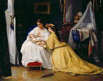 First Born, 1863 by Gustave Leonard de Jonghe
