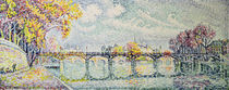 The Pont des Arts, 1928 by Paul Signac