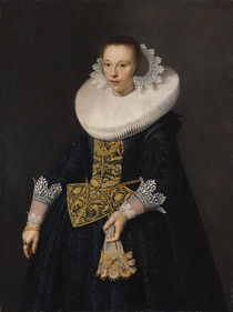 Portrait of a Young Woman, 1632 by Nicolaes Eliasz
