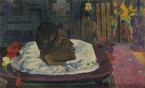 Arii Matamoe , 1892 by Paul Gauguin