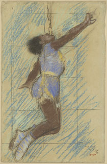 Miss Lala at the Fernando Circus von Edgar Degas