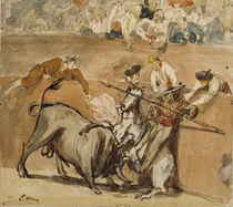 Bullfight, 1865 by Edouard Manet